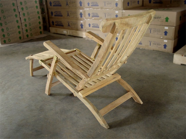 Ocean Teak Deck Chair ...