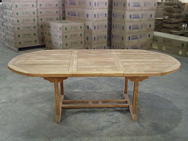 Ballina Oval Extension Table 180cm/240cmx120