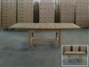Genuk Barrel Extension Teak Table 180cm x 120cm - Extendable To 240cm