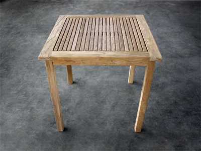 Lumi Square Teak Table 80cm x 80cm - Erosion
