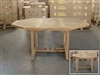 Westport Octagon Extension Table 120cm/170cmx120