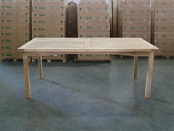 Padi Teak Rectangle Table 200x100cm
