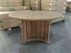 Shierly Teak Round Dining Table 130cm