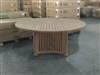 Shierly Teak Round Dining Table 160cm