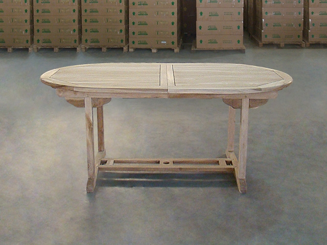 Athlone Oval Extension Table 180cm/240cm X 100cm