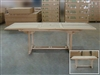 Buttevant Rect. Extension Teak Table 180cm x 100cm - Extendable To 240cm