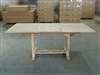 Clonmel Rect. Extension Teak Table 150cm Regular To 200cm W/ Extension x 100cm Width