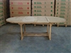 Keadew Oval Teak Table Double Extension 160/240cm x 120cm