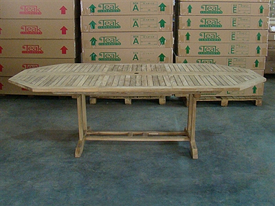 Lorrha Octagon Extension Table 180cm/240cmx120