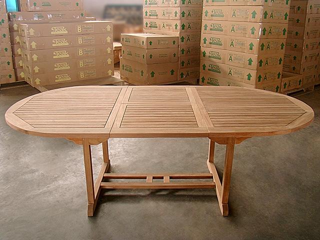 Callan Oval Extension Table 180cm Regular To 240cm W/extension X 120cm  Width V2