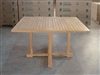 Beltubert Square Teak Table 130cm x 130cm