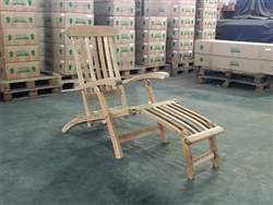 Teak Steamer Chair (c)