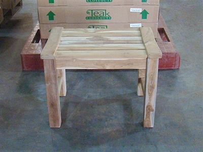 "60cm/24"" Rinjani Teak Backless Bench"