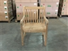 teak flores arm chair