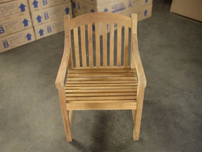 teak maluku arm chair