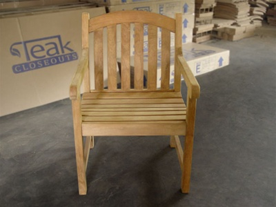 teak natuna arm chair