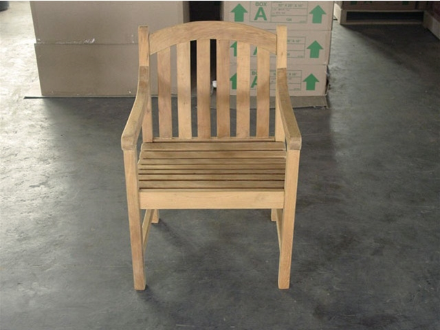 Teak Chair teak arm chair - sulawesi