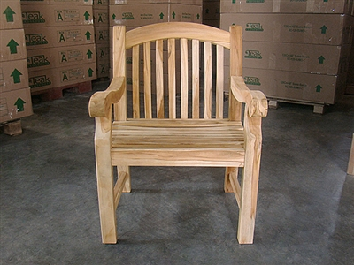 Teak Arm Chair - Sumo
