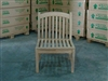 Teak Armless Chair - Tista