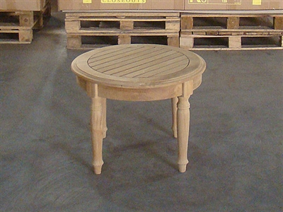 Bubut Teak Coffee Table - 60cm x 60cm