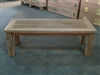 "120cm/48"" Juwana Teak Backless Bench"