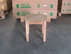 teak side table intan