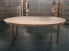"Banjar Elliptical Table - 220cm x 120cm (87""x48"")"