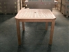 Barito Square Teak Table 100 x 100cm