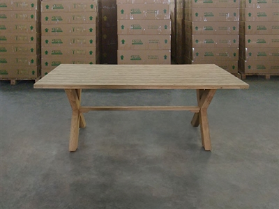 Bima Rectangle Teak Table 192 x 100cm