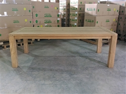 Jambi Rectangle Teak Table 220 x 100cm