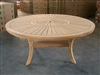 Komodo Round Dining Table 180cm