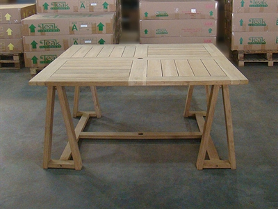 Lagong Square Teak Table 150 x 150cm