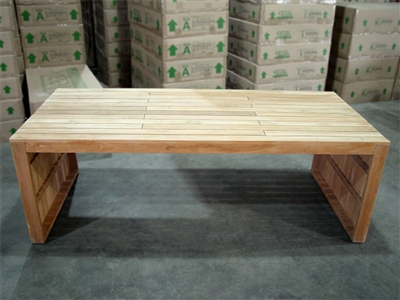 Melaya Teak Rectangle Table 220 x 100cm
