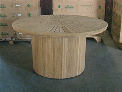 Pindi Teak Round Dining Table 150cm