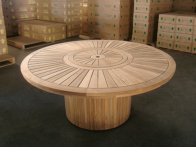 pindi round dining table 180cm. Black Bedroom Furniture Sets. Home Design Ideas