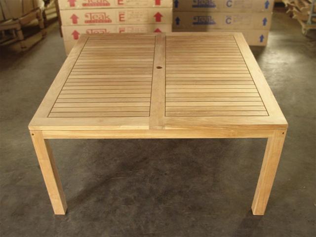 Rinjani Square Teak Table 150 X 150cm