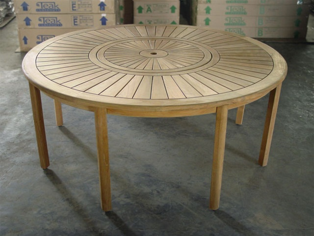 Round Dining Table 180cm