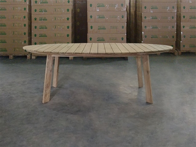 Windsor Oval Dining Teak Table - 220cm x 120cm