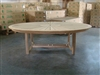 Williamsburg Teak Oval Dining Table - 240cm x 180cm V2