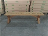 "S2DIO Teak Backless Bench #002 - 180x40cm - 71"" x 16"""