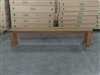 "S2DIO Teak Backless Bench #004 - 220x37cm - 87"" x 15"""