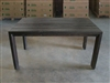 "S2DIO Teak Table #0037 - 160x98.5cm - 63"" x 39"""