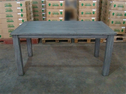 "S2DIO Teak Table #0062 - 160x90cm - 63"" x 35"""