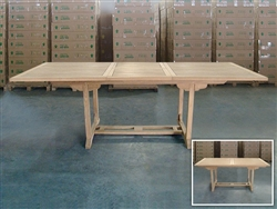 Elisa Rectangle Extension Table 180cm/240cmx100