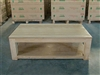 Carrick - Heavy Teak Coffee Table 140cm x 80cm