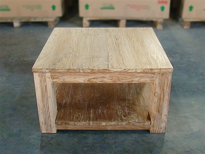 Carrick - Heavy Teak Coffee Table 80cm x 80cm