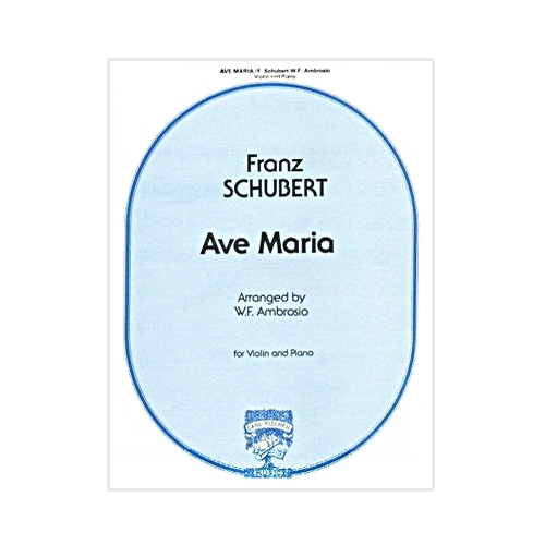ave maria violin sheet music pdf