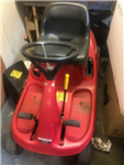 Used Mountfield 1636H Hydro ride on mower with collector HYDROSTATIC