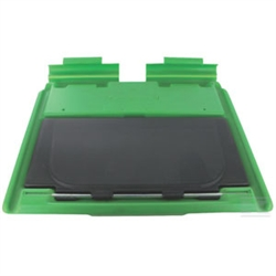 Etesia grass box flap and rear deflector used on Pro 46 range part number 23414