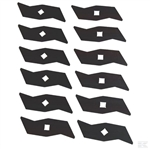 Alko Garden uk spare parts Alko BLADE SKIN PACK part number AK104592